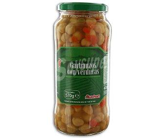 Auchan Garbanzos con verduras 400 gramos