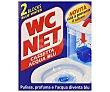 Pastillas para WC limpia cisternas 2 uds. de 45 gr WC Net