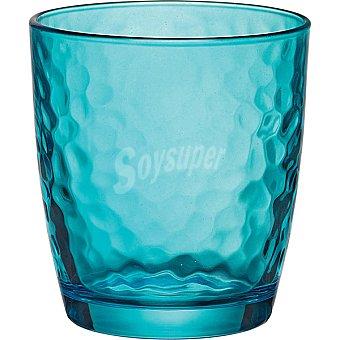 BORMIOLI Palatina Vaso de cristal en color azul  32 cl