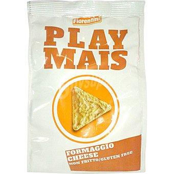 FIORENTINI Play Mais tortitas de maíz sabor queso sin gluten  bolsa 40 g