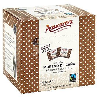 Azucarera Azúcar moreno en sobres Fairtrade 50 sobres 400 g