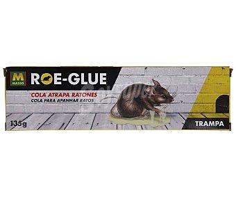 COMERCIAL QUÍMICA MASSO Cola atrapa ratones Roe-Glue 135gr. MASSO.