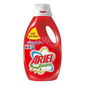 Ariel Detergente líquido Botella 24 dosis