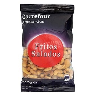 Carrefour Anacardos fritos y salados 200 g