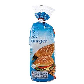 DIA pan de hamburguesas bolsa 220 gr 4 unidades
