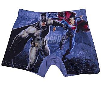 Batman Bóxer de algodón para niño vs SUPERMAN, color azul, talla 2/3
