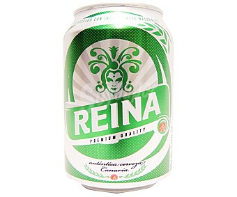 REINA ORO Cerveza Lata de 33 Centilítros