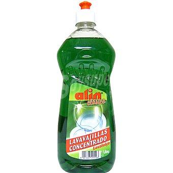 ALIN Lavavajillas a mano concentrado clásico botella 1 l 1 l
