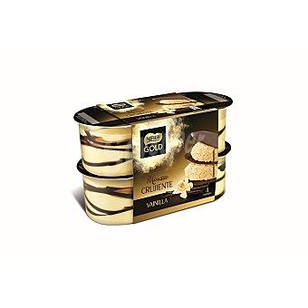 Gold Nestlé Mousse crujiente vainilla Pack 4 unidades x 57 gr