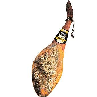 LEYENDA IBERICA jamón de cebo ibérico pieza 7-8 kg con regalo de 1/2 caña de lomo de cebo ibérico Deoro de 500 gr aprox 7-8 kg