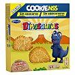 Galletas de cereales con forma de dinosaurios Caja 185 g (6 paquetes) Dinosaurus Artiach