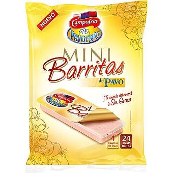 Pavofrío Campofrío Mini barritas de pavo Pack 4 unidades 25 g