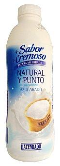 Hacendado Yogur liquido natural azucarado Botella 1 kg