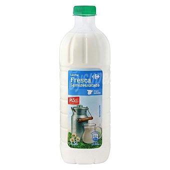 Carrefour Leche fresca semidesnatada 1,5 l