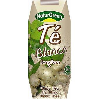 NATURGREEN bebida de té blanco al jengibre bio  envase 250 ml