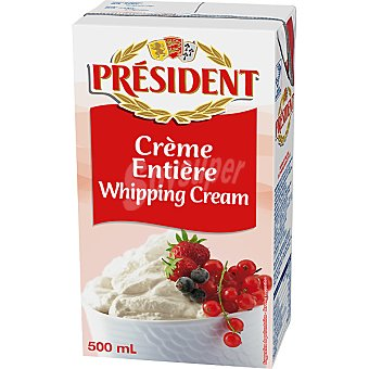 President Nata líquida para montar y cocinar Envase 500 ml