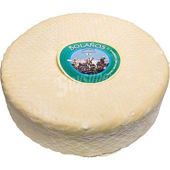 BOLAÑOS Queso de cabra curado graso artesano blanco peso aproximado pieza 8 kg