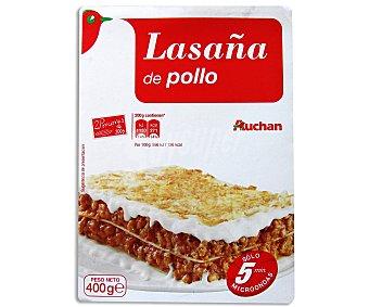 Auchan Lasaña de Pollo 400 Gramos