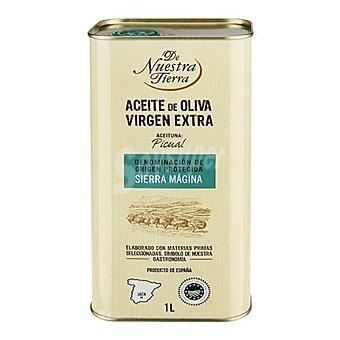 De nuestra tierra Aceite de oliva virgen extra Sierra Mágina 1 L