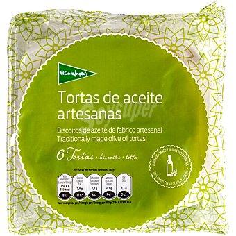 El Corte Inglés Tortas de aceite paquete 180 g 6 unidades