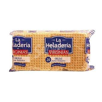 Virginias Obleas para helados Paquete 35 grs