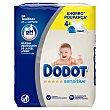 Toallitas de Bebé Dodot Sensitive Recambio 4 x 54 uds Dodot
