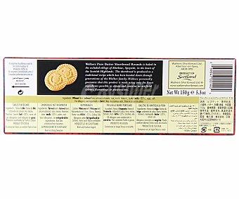 WALKERS Shortbread Rounds galletas de mantequilla estuche 150 g