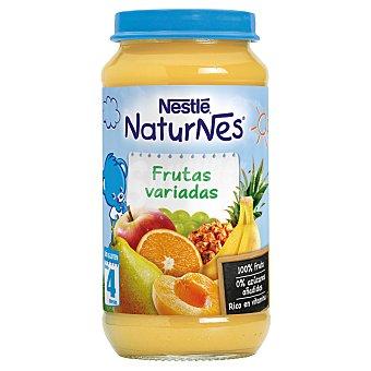 Naturnes Nestlé Tarrito de frutas variadas Tarro 250 g