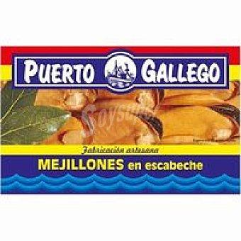 Puerto Gallego Mejillón en escabeche Lata 111 g