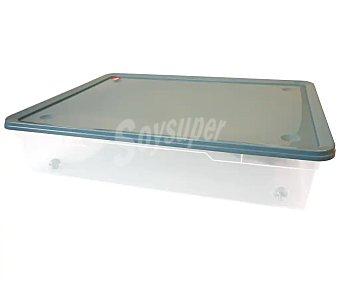 Actuel Caja bajocama transparente con tapa, 55l. de capacidad, actuel. 55 l.