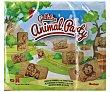 Galletas rectangulares con dibujos de simpáticos animales 600 gr Auchan