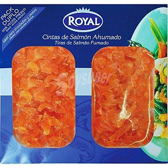 Royal Pescados Virutas de salmón ahumado Pack 2 envase 50 g