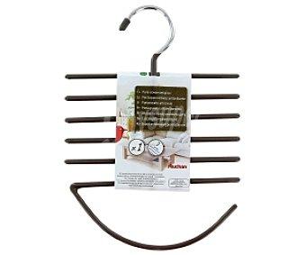 Auchan Percha porta corbatas,fulares + cinturones antideslizante 1 Unidad