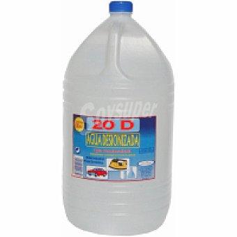 Can Valero Agua destilada Garrafa 5 litros