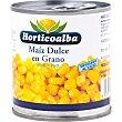 maíz dulce en grano lata 420 g Hortico Alba