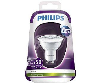 Philips Foco led dicroico 4.5 Watios, con casquillo GU10 y luz cálida 1 unidad