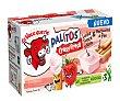 Bastoncitos de pan y leche fresca con nata sabor fresa 3 uds. x 35 g La Vaca Que Ríe Palitos