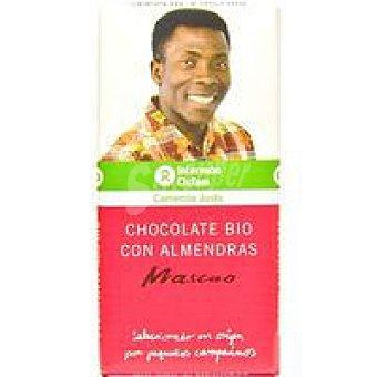 Intermón Oxfam Chocolate con leche-almendra Tableta 100 g