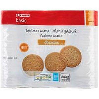 Eroski Basic Galleta María Pack 4x200 g