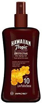 Hawaiian Tropic Aceite solar bronceador, con factor protección 10 (bajo) 200 ml