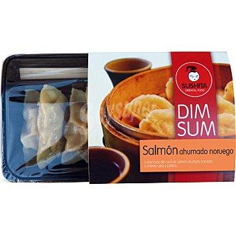 Sushita Salmón ahumado con salsa y palitos Dim Sum Envase 120 g