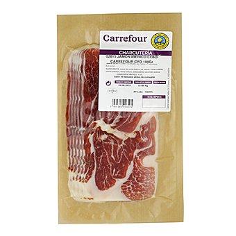 Calidad y Origen Carrefour Jamón ibérico de cebo loncheado 2 Sobres de 100 g