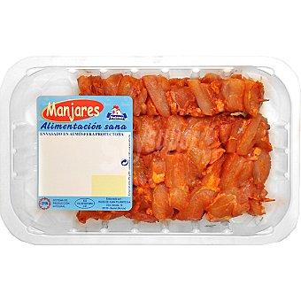 MANJARES Pinchos morunos de pollo Bandeja 400 g