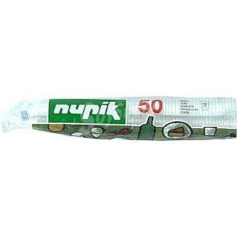 Nupik Vaso transparente 10 cl bolsa 50 unidades Vaso 10 cl