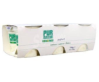 Pur Natur Yogur natural bio pack 6 125 g