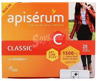 APISERUM Jalea real fresca con vitamina C 20u