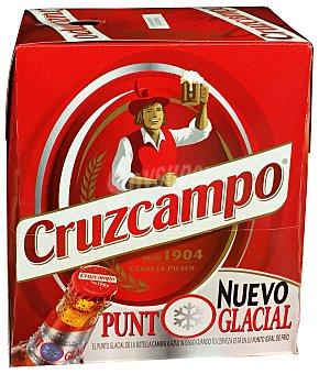 Cruzcampo Cerveza rubia Botella 6 u