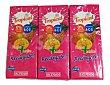 Frutas+leche tropical (brick rosa) 3 x 330 cc Hacendado