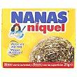 Estropajo de acero inoxidable dorado Paquete 1 u Nanas Niquel