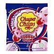 Sabor cereza con explosión de chicle sin gluten bolsa 126 g 7 unidades Chupa Chups